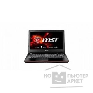 "Ноутбук MicroStar 9S7-16J222-433 MSI GE62 2QC Apache Broadwell i7-5700HQ+HM87/ DDR III 8GB/ 1TB SATA 7200rpm/ 15.6"" FHD, Anti-Glare 1920*1080 eDP/ nVidia Geforce GTX 960M, 2GB GDDR5/ DVD-SM/ Y/ BT/ Win8.1 SL/ Black"
