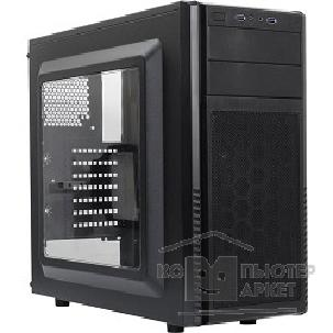 Корпус SilverStone Minitower  Precision PS11B-W ATX/ win/ no PSU