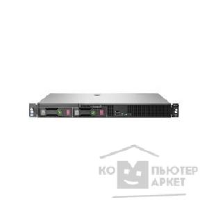 Hp Сервер E ProLiant DL20 Gen9 G4400 4GB DDR4 2133MHz UDIMM 2 x Non-Hot Plug 3.5in SATA B140i No Optical 290W 1yr Next Business Day Warranty 829889-B21