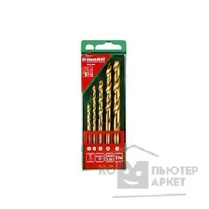 Hammer Набор сверл  Flex 202-901 DR set No1 5pcs 4-10mm металл, 5шт. [30782]