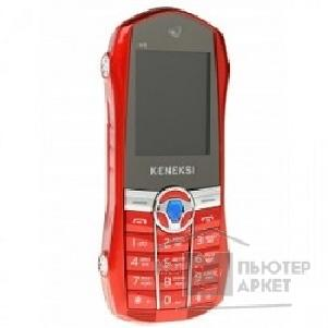 Кенекси KENEKSI M5 Red, 1.77'' 128x160, up to 16GB flash, 0.3Mpix, 2 Sim, 2G, BT, 800mAh, 68.5g, 110x46,5x18,5