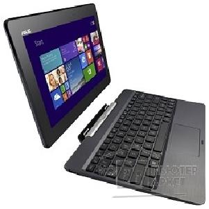 "Планшетный компьютер Asus T100TA-DK066H + Mobile Docking 10.1"" 1366x768 / Touch/ Intel Atom Z3775 1.4Ghz / 2048Mb/ 500+32SSDGb/ noDVD/ Int:Intel HD/ Cam/ BT/ WiFi/ war 1y/ 0, 59kg/ grey/ W8.1 90NB0451-M08040"