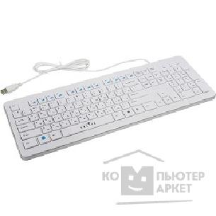 Клавиатура Oklick 540S white USB slim Multimedia [337454]