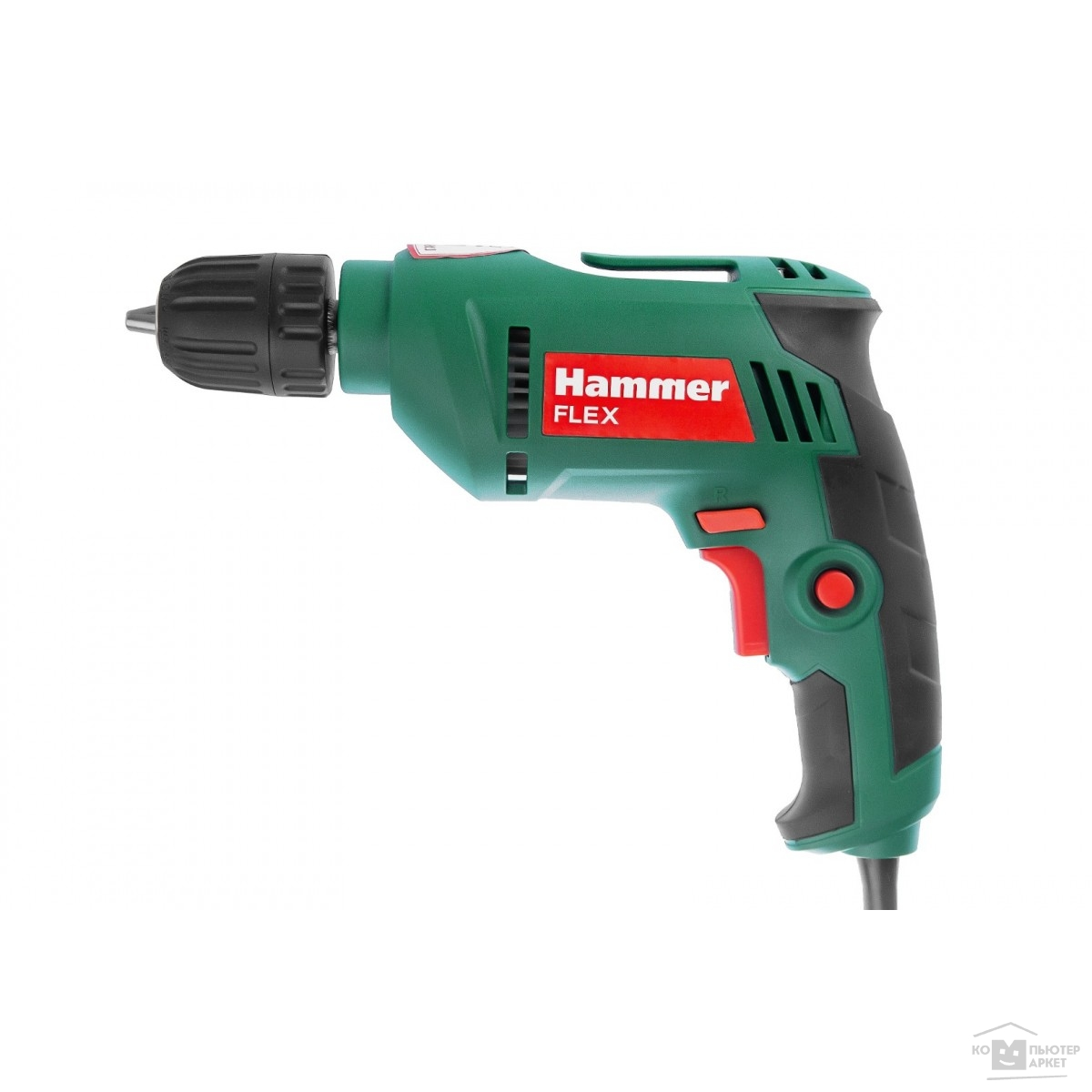 Hammer Аккум.дрель DRL500C  [630796] { 500Вт 10мм БЗП 0-3200об/мин реверс}/HAMMER 630796 630796
