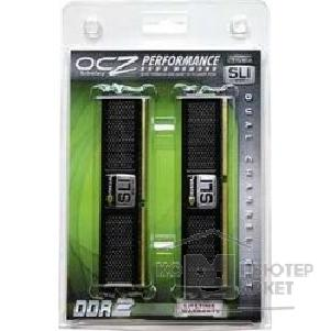Модуль памяти Ocz DDR-II 2GB PC2-8500 1066MHz Kit 2 x 1GB [2N1066SR2GK] SLI-Ready Epp