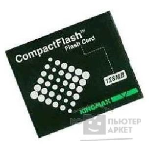 Карта памяти  Verbatim Compact Flash 128Mb Kingmax