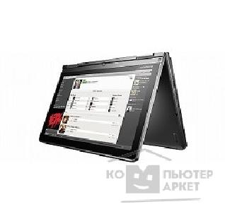 "Ноутбук Lenovo ThinkPad Yoga S1 20CD00A5RT Core i5-4200U/ 8Gb/ 128Gb SSD/ HD4400/ 12.5""/ FHD/ Touch/ Tablet/ Win 8.1 SL 64/ black/ BT4.0/ IPS/ AG/ 8c/ WiFi/ Cam"