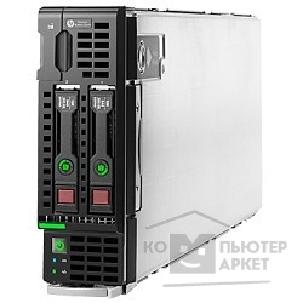 Hp Сервер  ProLiant BL460c Gen9 E5-2620v3 1P 16GB-R H244br Entry Server 727027-B21