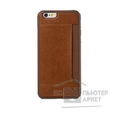 Чехол Ozaki O!coat 0.3 + Pocket case with card holder for iPhone 6. Brown OC559BR