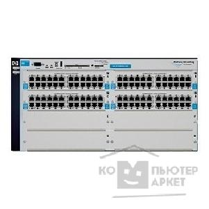 Сетевое оборудование Hp J8775B  E4208vl-96 8-slot chassis Managed, L3 static router, 4 open slots + 4x24-port 10/ 100-TX modules, Stackable 19""
