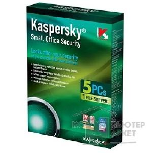 Программное обеспечение Kaspersky KL2526RBEFS  Small Office Security for Windows WS+F SRus. 5-WS + 1-FS 1 year Base Box