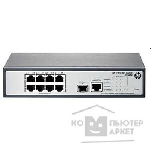 Сетевое оборудование Hp JG348A  1910-8G Switch Web-managed, 8*10/ 100/ 1000 + 1 SFP, static routing, 19""