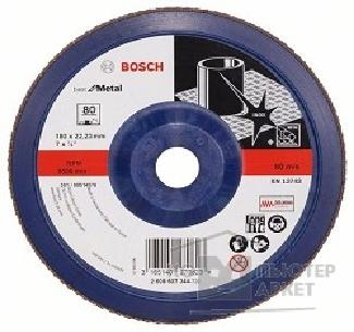 Bosch Bosch 2608607344 КРУГ ЛЕПЕСТК 180мм K80 Best for Metal