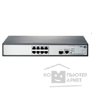 Сетевое оборудование Hp JG349A  1910-8G-PoE+ 65W Switch Web-managed, 8*10/ 100/ 1000 + 1 SFP, static routing,PoE+, 19""