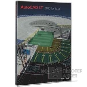 Программное обеспечение Autodesk 827E1-095115-1001 AutoCAD LT for Mac 2013 Commercial New SLM DVD EN