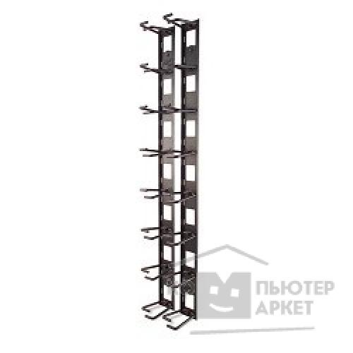 Аксессуары APC by Schneider Electric APC AR8442 Vertical Cable Organizer, 8 Cable Rings, Zero U