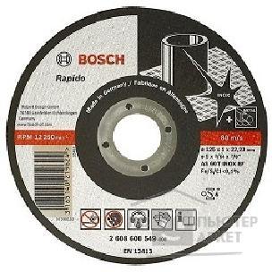 Bosch 2608600094 ОТРЕЗНОЙ КРУГ INOX 125X2 ММ/Bosсh 2608600094 2608600094
