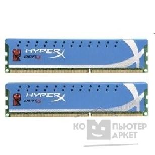 Модуль памяти Kingston DDR3 4GB PC3-15000 1866MHz Kit 2 x 2GB  [KHX1866C11D3P1K2/ 4G] HyperX