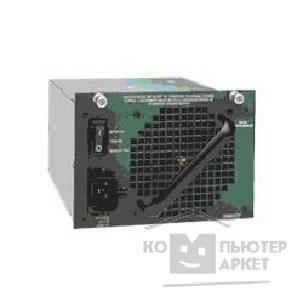 Сетевое оборудование Cisco PWR-C45-1400AC= [Catalyst 4500 1400W AC Power Supply Data Only Spare ]
