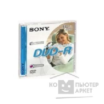 Диск Sony DVD-R 8см, 2.8GB, 8см, Double Sided,  [DMR60DSA/ T]
