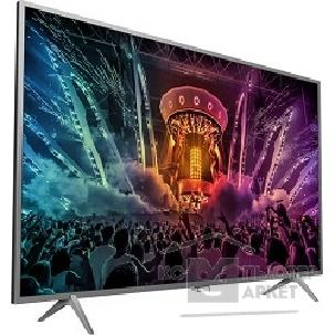 "Телевизор Philips 43"" 43PUS6401/ 60 серебристый"