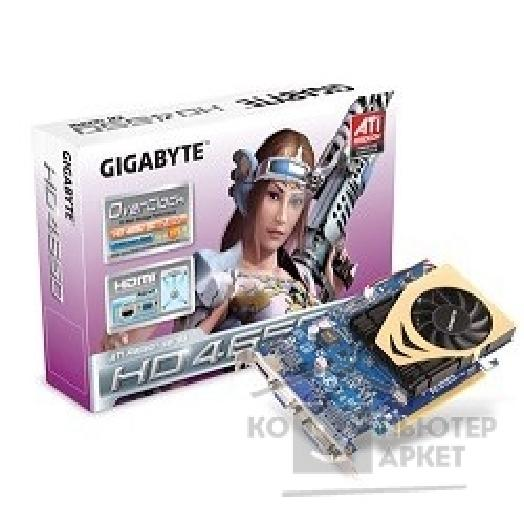 Видеокарта Gigabyte GV-R465OC-1GI, OEM Radeon HD4650, 1GB, TV-out, DVI, HDMI  PCI-E