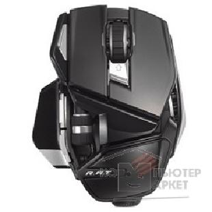 Mad Catz Мышь  Office R.A.T Wireless Mouse - Gloss Black беспроводная лазерная MCB4372400C2/ 04/ 1 [PCAmc11]