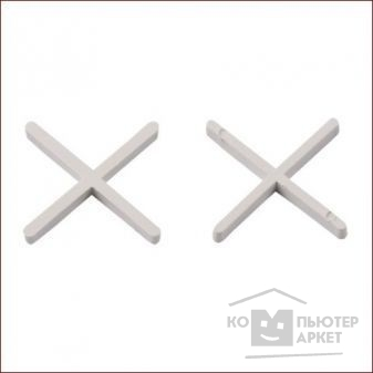 STAYER 6мм крестики для плитки, 75шт [3380-6]/Stayer 3380-6 3380-6