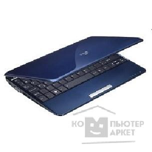 "Ноутбук Asus EEE PC 1005HA Blue Atom N280/ 1,66GHz/ 1G/ 160G/ 10""/ WiFi/ cam/ BT/ WiFi/ 4400mAh/ XP"