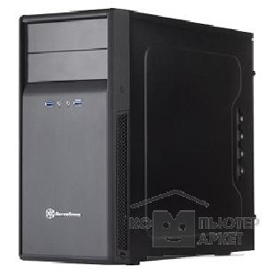 Корпус Minitower Silverstone Precision PS09B <Black, mATX, USB3.0, Audio, без БП>