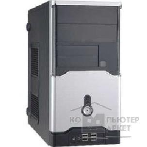 Корпус Inwin Mini Tower  V-606BS AD 350W 12V USB+Audio mATX [6001243/ 6003169]