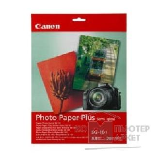 Бумага широкоформатная HP Epson SG-101 CANON Photo Plus Semi-gloss, 260 г/ м 10 x15, 20 листов