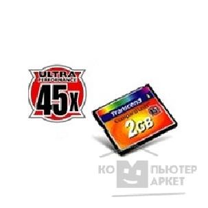 Карта памяти  Transcend Compact Flash 1Gb   TS1GCF45 45-x