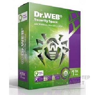 Dr. Web ПО DR.Web Security Space 1 ПК/ 1 год BHW-B-12M-1-A3
