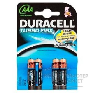 Батарейка Duracell LR03-4BL TURBO MX2400 AAA 4 шт. в уп-ке