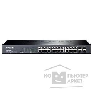 Сетевое оборудование Tp-link TL-SG2424 24-port Pure-Gigabit Smart Switch, 24 10/ 100/ 1000Mbps RJ45 ports including 4 combo SFP slots, Tag-based VLAN, STP/ RSTP/ MSTP, IGMP V1/ V2/ V3 Snooping, 802.1P Qos, Rate Limiting, Port
