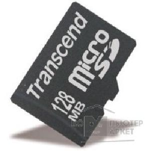 Карта памяти  Transcend Micro SecureDigital 128Mb  TS128MUSD
