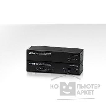 Переключатель Aten CE775-AT-G Удлинитель, 2xSVGA+KBD&MOUSE USB+AUDIO+RS232, 300 метр., 1xUTP Cat5e, SPHD15+2xHD-DB15+2xUSB A-тип + 2xMINI JACK+DB9, Female, с KVM-шнуром USB 1.8м., Б.П. 220> 5.3V