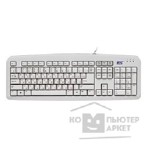 Клавиатура Btc Keyboard  5211AU-WP, USB, белая, L-образный Enter, защ. от капель