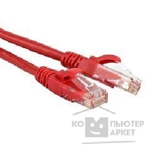 Патч-корд Hyperline PC-LPM-UTP-RJ45-RJ45-C6-2M-LSZH-RD Патч-корд U/ UTP, Cat.6, LSZH, 2 м, красный
