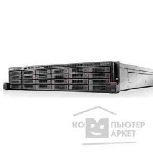 "Сервер Lenovo ThinkServer RD650: 70D2001REA Intel® Xeon® E5-2670 V3/ 12C/ 120W/ 2.3Hz/ 30MB/ 9.6GT, 8 GB 1 x 8 GB DDR4-2133MHz 1Rx4 , 24 x 2.5"" HS, 0,1,5,6,10,50,60, 750W Platinum PSU, 3 Year Warranty"