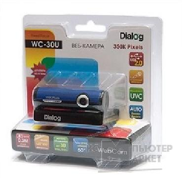 Dialog ���-������  WC-30 U BLACK-BLUE - 350K, ����. ��������, USB 2.0, �����-�����