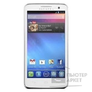 "Мобильный телефон Alcatel  One Touch X'POP 5035D Pure White / 2 sim/ Android/ 2x1000MHz/ 4.5""/ 540x960/ 5.0mpx/ 4GB/ microSD/ 1"