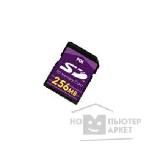 Карта памяти  SecureDigital 256Mb PQI SD Memory Card