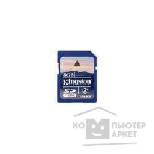 Карта памяти  Kingston SecureDigital 8Gb  SD4/ 8GB
