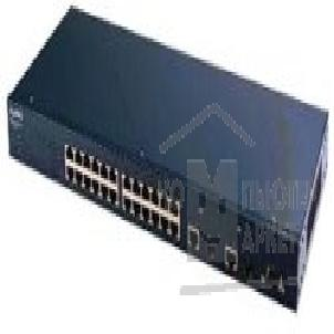 Сетевое оборудование ZyXEL ES-2024 EE 24-port Managed Layer 2 Fast Ethernet Switch with 2 Gigabit Ports, 19'