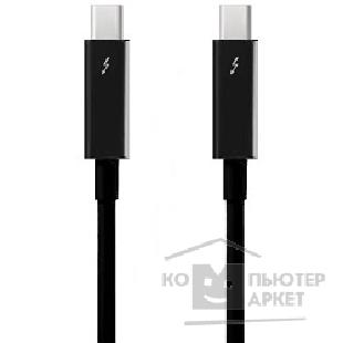 Аксессуар Apple MF640ZM/ A  Thunderbolt cable 0.5 m, Black