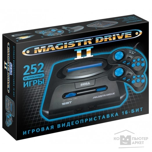 SEGA Magistr Drive 2 (252 игры) 16 bit ConSkDn98 [SMD2-252]/SEGA SMD2-252 ConSkDn98