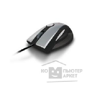 Мышь Oklick 625M lazer mouse, PS/ 2+USB, 1600dpi, silver/ black