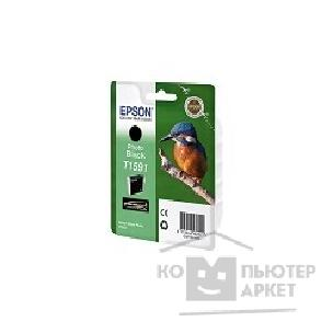 Расходные материалы Epson C13T15914010  T1591 для Stylus Photo R2000 photo black  cons ink
